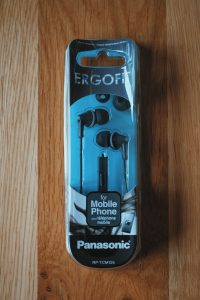 Panasonic RPTCM125EK Headphone